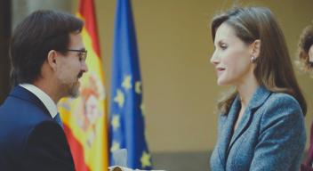 Fernando Landeros obtiene Premio Reina Letizia