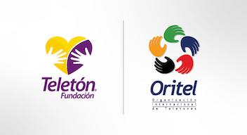 Logos de Fundación Teletón México y de la Organización Internacional de Teletones