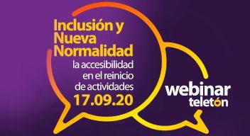 Webinar gratuito: Inclusión y Nueva Normalidad, la Accesibilidad en el reinicio de actividades
